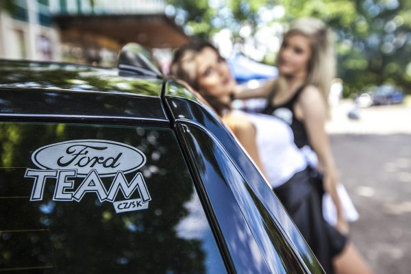 Daniela Smržová photography Ford Czech team hostesses fotoreport