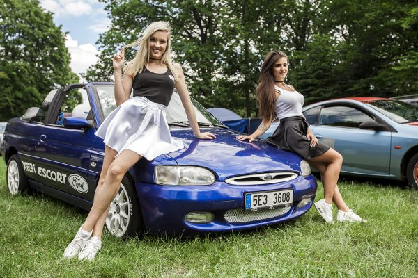 Daniela Smržová photography Ford Czech team hostesses fotoreport Sraz Ford Team