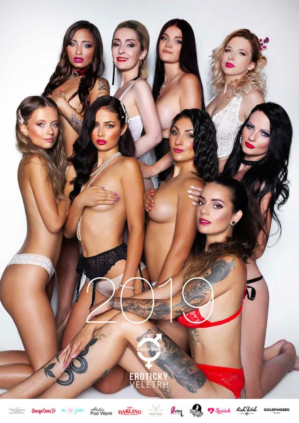 kalendář miss erotika